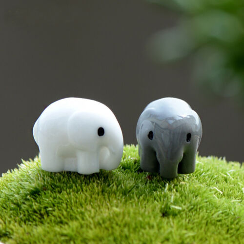 Adorable DIY Garden Ornament Miniature Figurine Plant Pots Fairy Dollhouse Decor