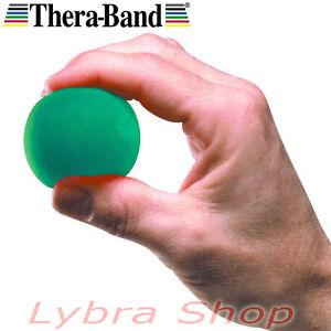 Thera-Band-BOLA-VERDE-MEDIA-recuperacion-forza-mano-DEDOS-PULSERA-MANO-ejercicio