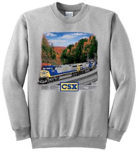 CSX AC6000 Authentic Railroad Sweatshirt 22