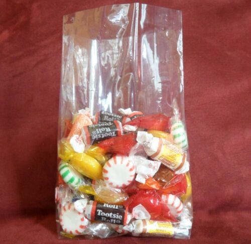 """100 Qty 4-1//2/"""" x 2-3⁄4/"""" x 10-3//4/"""" Cello Crystal Clear Gusseted  Bags Open End"""