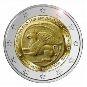 Griekenland-2020-Thracie-2-euro-CC-UNC