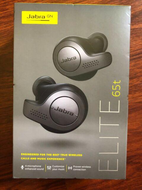 Jabra Elite Active 65t Wireless Earbud Headphones Titanium Black For Sale Online Ebay