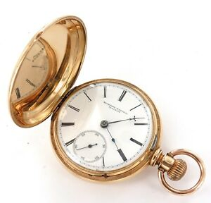 EXTREMELY-RARE-STUNNING-CASE-1876-ROCKFORD-18S-9J-POCKET-WATCH-EARLY-EXAMPLE