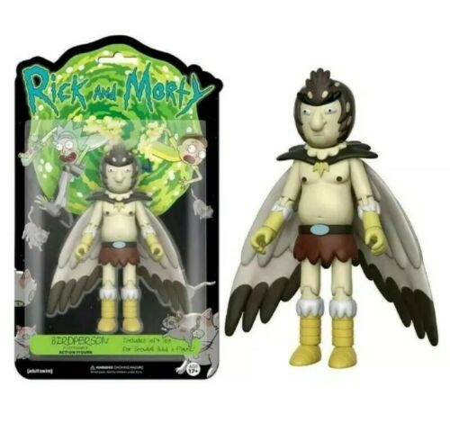 "FUNKO Rick /& Morty birdperson 5/"" poseable Action Figure Giocattolo"
