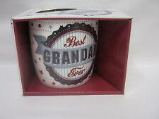 New BGC Ceramic Mug Beaker Coffee Cup Tea Best Grandad Ever KL0034
