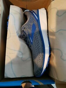 brooks mens ghost 11 gray running shoes size 13 narrow