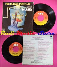 LP 45 7'' JOE DASSIN The guitar don't lie Yellowstone cowbear 1980 no cd mc dvd