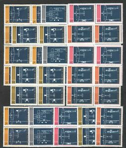 DEALER-STOCK-SAN-MARINO-MNH-1973-Aircrafts-5v-10-SETS-s32695