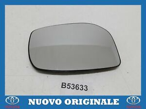 Glass Right Mirror Glass Original For Yaris 2 2005 2012
