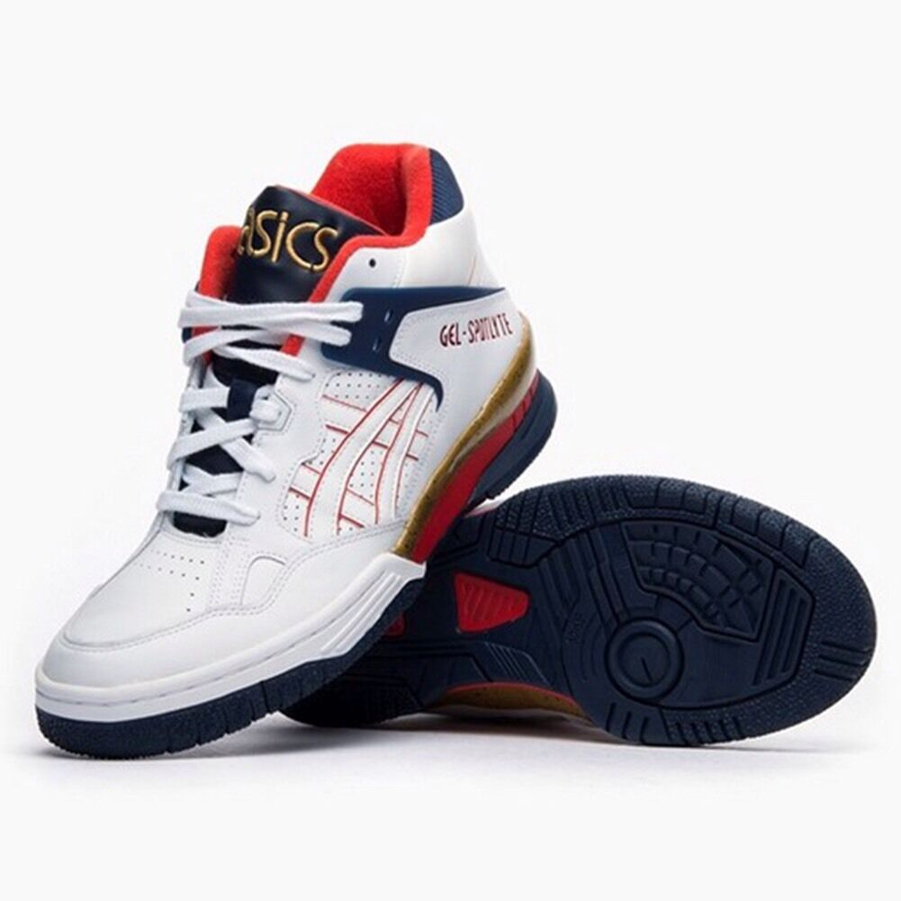 ASICS GEL Weiß/MULTI SPOTLYTE H447L-5201 BASKETBALL Schuhe Weiß/MULTI GEL COLOR 100% AUTHENTIC bb2938