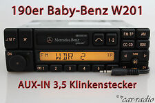 Original Mercedes W201 Baby-Benz C-Klasse Special BE1350 AUX-IN MP3 Klinke Radio