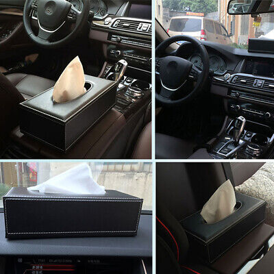 Leather Home Car Tissue Case Hello Kitty Box Towel Container Napkin Paper Holder