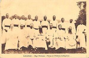 CPA-CONGO-LOANGO-MGR-FRITEAU-PERES-ET-PRETRES-INDIGENES