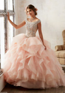 Pageant-Wedding-Dresses-Prom-Party-Quinceanera-Formal-Cocktail-Ball-Gowns-Custom