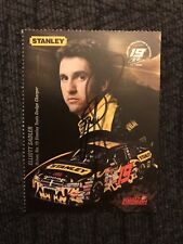 Ray Evernham signed Nascar Trading Card Autographed Perforated