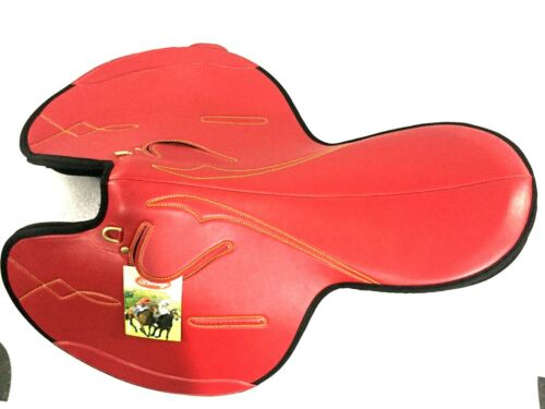 New Synthetic Race Exercise Saddle Red Light Weight