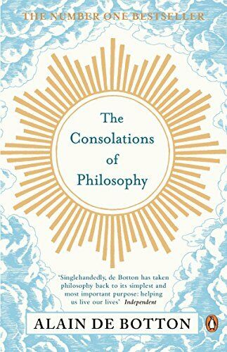 1 of 1 - The Consolations of Philosophy by de Botton, Alain 0140276610 The Cheap Fast