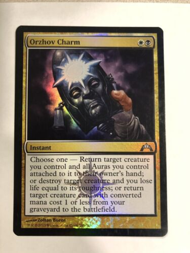 Toys Hobbies Mtg Orzhov Charm Foil Mtg Individual Cards The gathering (mtg) and magic online (mtgo). lj hooker home loans