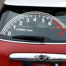 Off Road SUV Car Sticker Windshield Speedometer Reflective Vinyl Graphics Decal