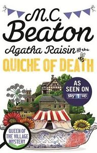 Agatha-Raisin-et-The-Quiche-Of-Death-B-M-C-Beaton-Tout-Neuf-Envoi-GB