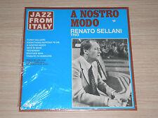 RENATO SELLANI TRIO - A NOSTRO MODO - LP 33 GIRI ITALY