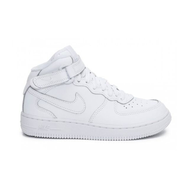 finest selection 5bbe8 788a4 Scarpe sportive bambino NIKE Air Force Hi in pelle col. bianco PS 314196-113