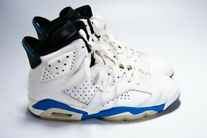 Vegetales discreción Gran universo  Nike Air Jordan 6 VI Sz 8.5 Sport Blue Black 1991 OG VTG Rare Original  Swapped | eBay