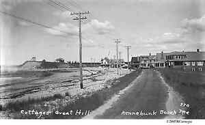 1930's Kennebunk Beach Great Hill Cottages Maine