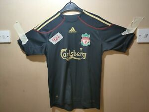 Authentic ADIDAS LIVERPOOL FC AWAY SHIRT 2009/10.. 13-14 yrs beautiful condition