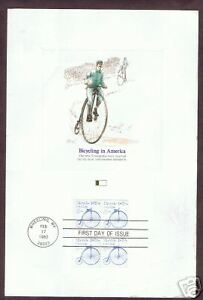 First-Day-of-Issue-STAMP-BICYCLING-IN-AMERICA-1982