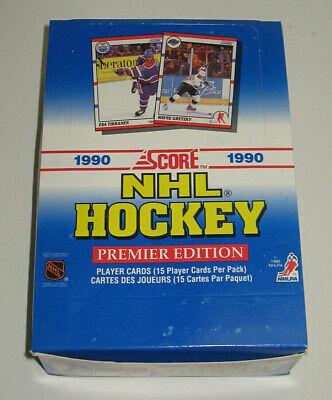 Paquet de 15 cartes de Hockey Pro Set 1990