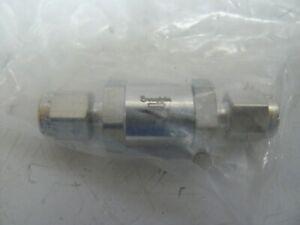 1//8 Tube Fitting Fixed Pressure Swagelok SS-2C-1//3 Stainless Steel Poppet Check Valve 1//3 Psi g