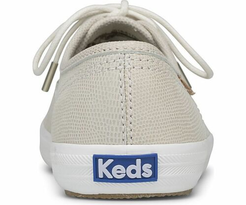 Women/'s Champion Pretty Leather Lace up Sneaker Ivory Pick A Size MSRP $70