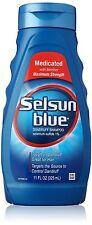 Selsun Blue Medicated Maximum Strength Dandruff Shampoo, 11 Ounce