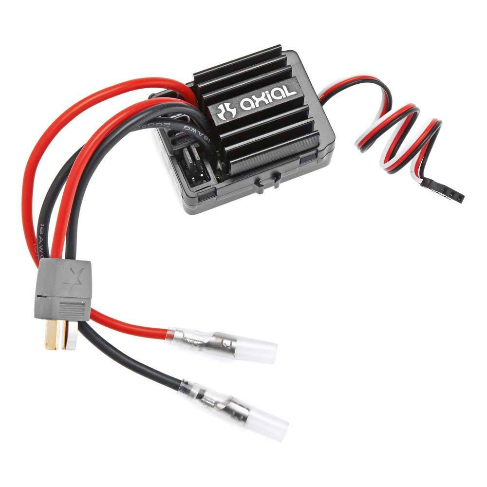 Axial Racing AX31144 AE-5 Waterproof ESC w Reverse & Drag Brake Star Plug