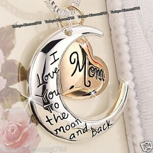 I-LOVE-YOU-HEART-amp-MOON-NECKLACE-ROSE-GOLD-GIFTS-FOR-HER-WIFE-MUM-DAUGHTER-WOMEN