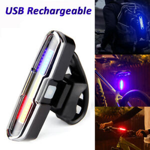 Red-Blue-USB-Rechargeable-Ultra-Bright-COB-Bicycle-Taillight-Rearlight-Lamp-h