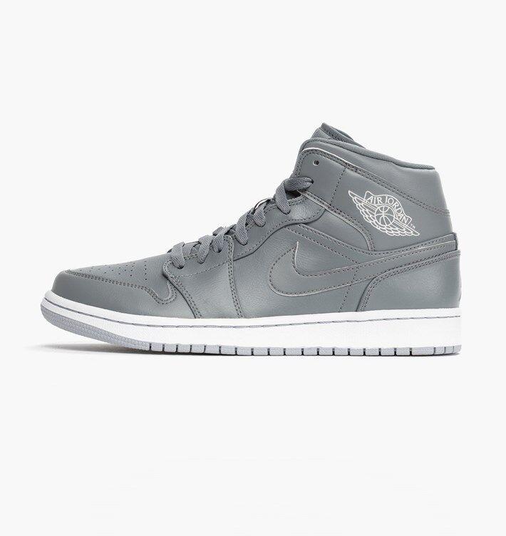 Nike Air Jordan 1 Mid AJ1 Mens 10 shoes Sneakers 554724 Basketball OG Hightop Hi