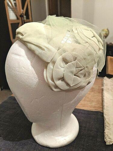 Vtg 30's-40's Women's Bendable Cap Sunday Hat Nett