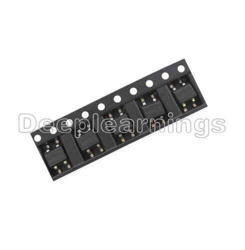 100Pcs IC MB6S 0.5A 600V Miniature Mini SMD Bridge Rectifier