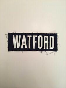 T) Virginia UVA Cavaliers Football Game Worn Jersey David Watford Nameplate