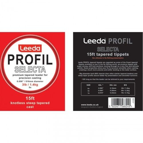 Leeda Selecta Cast dirigeants Line No 2 5 LB environ 2.27 kg