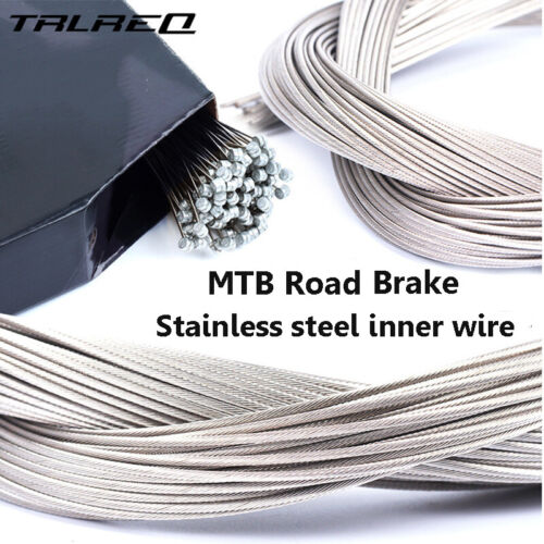 MTB Bike Road Bicycle Front Rear Brake Derailleur Cable Stainless Line Core