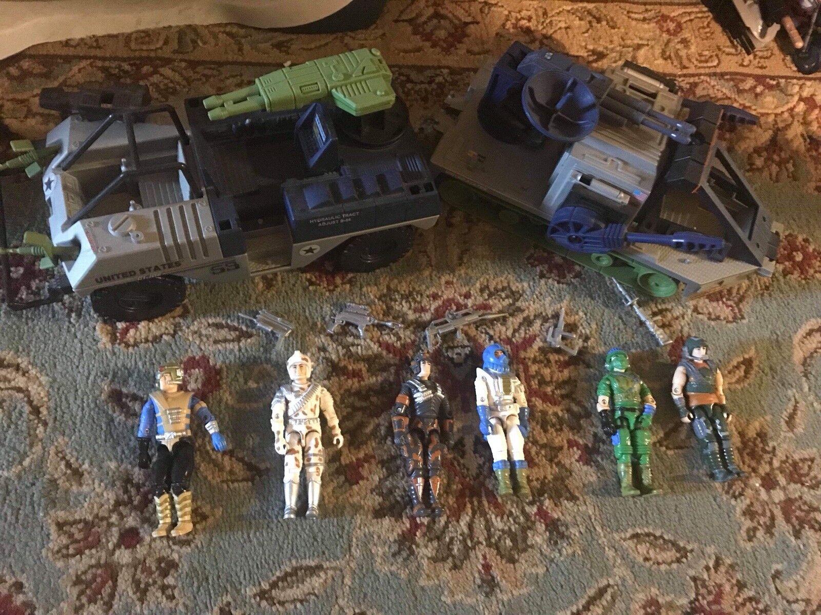 2000 Force Battle 1987 Gijoe Arah Lot vehicles 2 W Set Cobra