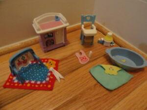 Fisher Price Loving Family Dollhouse Furniture Lot Set ...