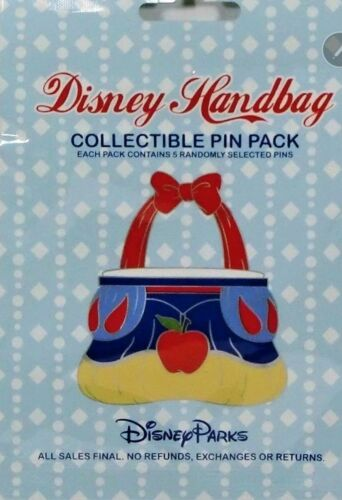 Disney Handbag Mystery 5 Pin Booster Set Bag Pack Disneyland dsf ptd wdi d23