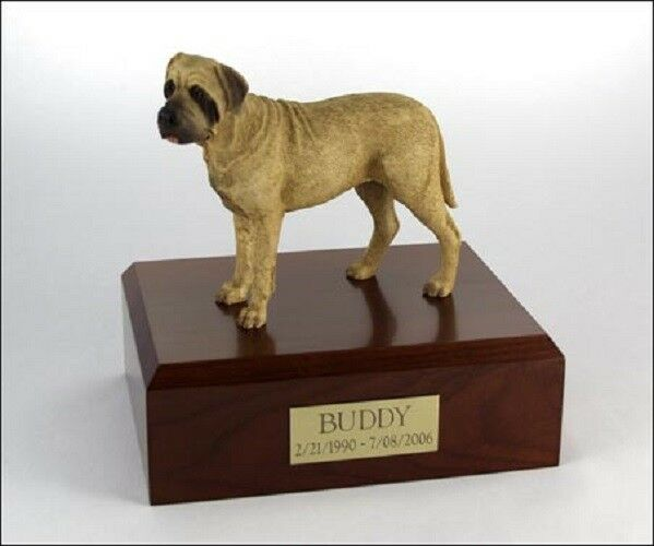 Bull Mastiff Pet Funeral Cremation Urn Available in 3 Different Colores 4 Dimensiones
