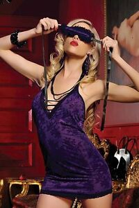 Violet-London-Sexy-Babydoll-Style-Lingerie-with-eye-mask