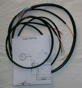 IMPIANTO-ELETTRICO-ELECTRICAL-WIRING-MOTO-GUZZI-TROTTER-CON-SCHEMA-ELETTRICO