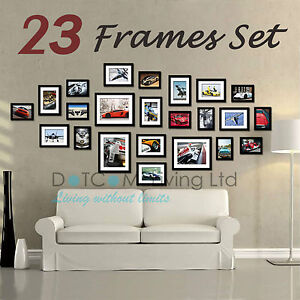 image is loading 23 piece multi picture collage photo frame frames